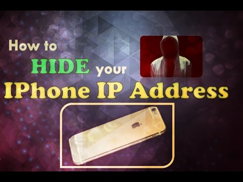 How to hide||mask||disguise your Android/iPhone IP Address