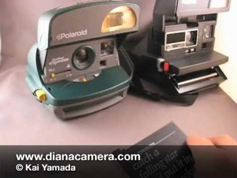 Polaroid OneStep (One Step) Type 600 Film Loading