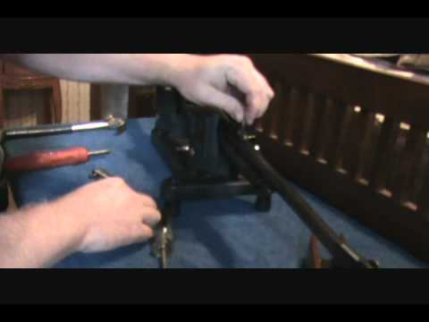 Remington 742 Woodmaster project Disassembly