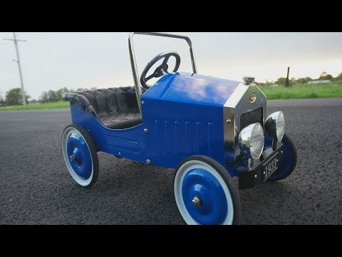 Home Made Electric Ride on Car with Remote Control