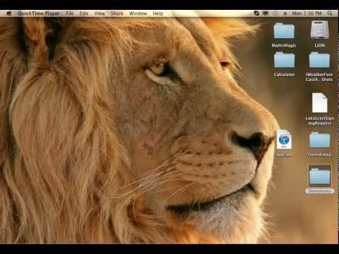 How to crop an image in MAC OS