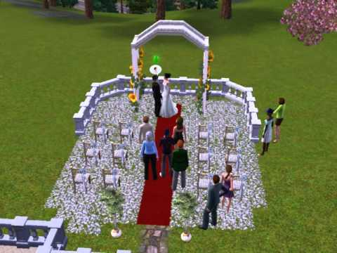 The sims 3 - Wedding Party
