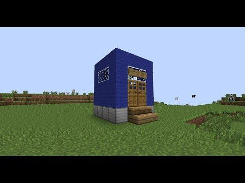 Minecraft Tardis (On the tekkit modpack)