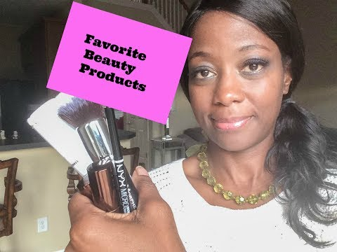 My 2017 Favorite Beauty Products