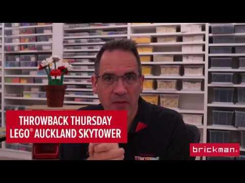 Throwback Thursday: LEGO® brick Auckland Skytower