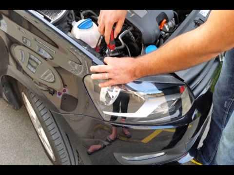Trocar lampada vw polo 2010 / change light vw polo