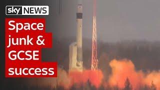 Swipe | space junk & GCSE success