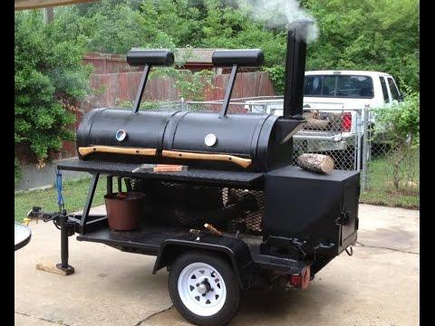 Build a Reverse Flow BBQ Smoker