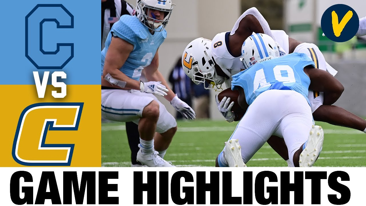 Chattanooga vs The Citadel Highlights | 2021 Spring College Football Highlights