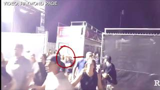 2nd GUN ??  ROUTE 91 SECURITY WITH WEAPON LAS VEGAS SHOOTING(opinon)