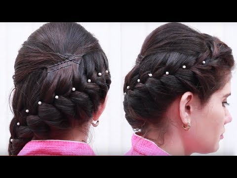 Latest Hair style for Girls || Ladies Hair style step by step Tutorials