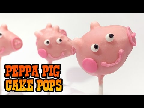 How to Make PEPPA PIG POPS!