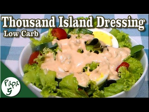 Low Carb Thousand Island Dressing  - Keto
