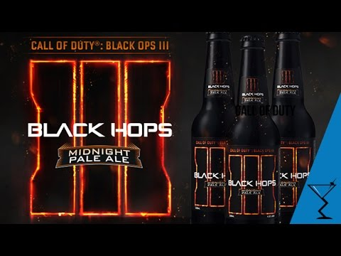 Black Hops 3 Beer - World's first Call of Duty® Craft Beer