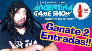 SORTEO DE ENTRADAS! | Argentina Game Show 2017