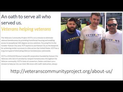 Veterans Community Project Update March 2017