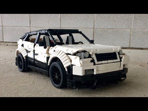 Lego Technic - Range Rover Evoque - Functions edit + Instructions