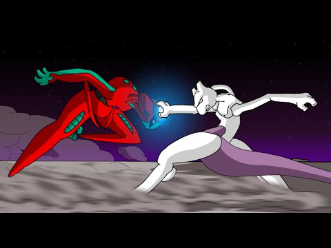 Mewtwo Vs Deoxys - Pokemon The Fated Duel FULL HD 1080p