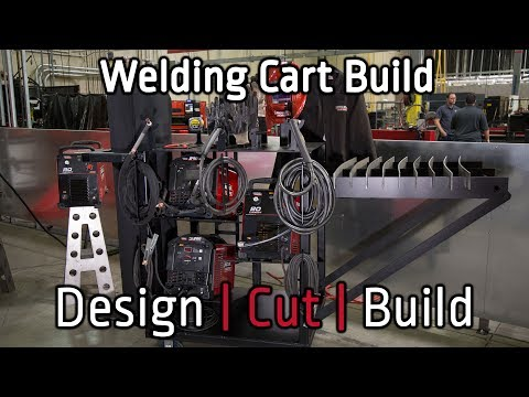 THE ULTIMATE WELDING CART by Lincoln Electric: Design | Cut | Build S2:E5
