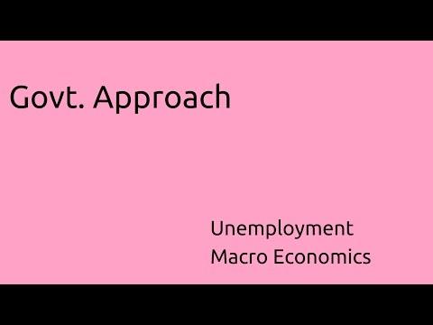Govt Approach to Solve Unemployment | Unemployment | CA CPT | CS & CMA Foundation | Class 11
