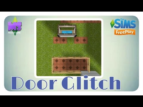 The Sims Freeplay - The Door Glitch