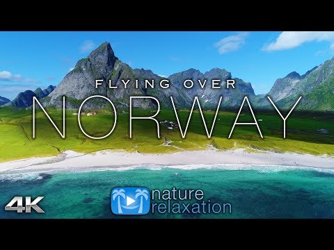 Xxx Mp4 FLYING OVER NORWAY 4K UHD 1HR Ambient Drone Film Music By Nature Relaxation™ For Stress Relief 3gp Sex