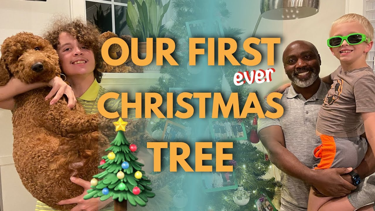 OUR FIRST CHRISTMAS TREE | NEW TREE DECORATING TRADITION