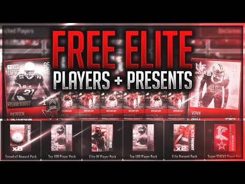 BEST TOURNAMENT REWARDS YET! FREE ELITE PRESENTS AND PLAYERS - Madden Mobile 18