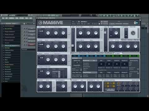 JPhelpz's FL Studio Tutorial (DUBSTEP) - Part 2: MASSIVE BASICS