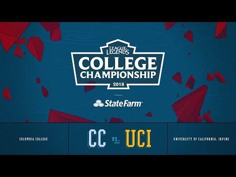 Columbia vs UC Irvine | Finals Game 1 | 2018 College Championship | CC vs UCI