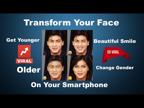 Transform Your Face Into Younger Or Older And Change Your Gender | FaceApp For Android  | Funny Face