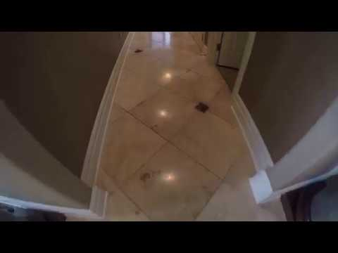 Travertine tile and grout cleaning - Rendall's Cleaning