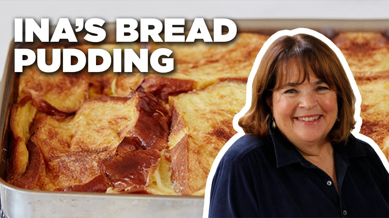 Ina's French Toast Bread Pudding How-To   Barefoot Contessa: Cook Like a Pro   Food Network
