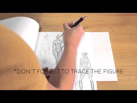 How to Easily Sketch Fashion without Drawing Experience | The Black Stilettos