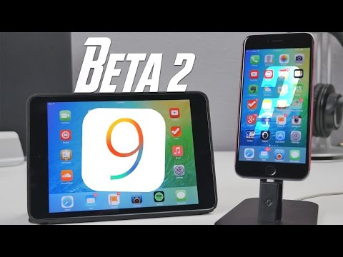 iOS 9: What's New In Beta 2