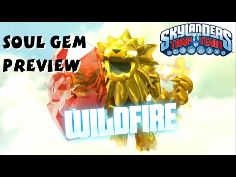 Wildfire Soul Gem Preview and Location - Skylanders Trap Team 1080P