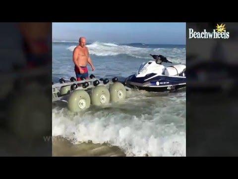 Dolly 36 Jet Ski Trolly, a beach trailer for your Jet Ski
