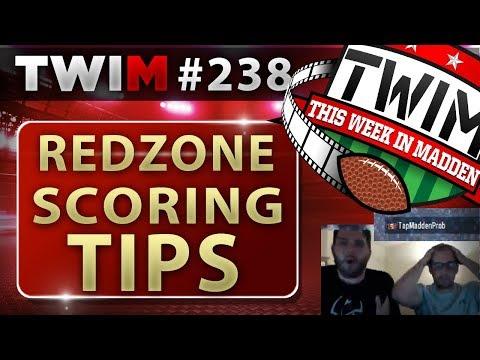 Madden 18 Gameplay | Guide to Redzone Scoring 101 | Madden 18 Tips