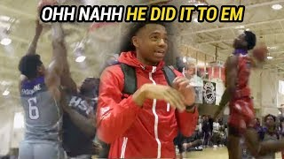 The Best In NYC Get HEATED! JELLYFAM And Jalen Lecque Pull Up To Hoops Showdown