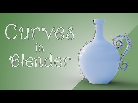 CGC Classic: Curve Modeling Basics (Blender 2.4)