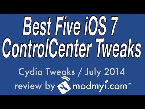 Best Five iOS 7 Cydia Tweaks For Control Center July 2014