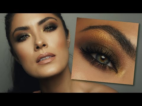 Green Gold Smoky Eye | Too Faced Chocolate Gold | Melissa Alatorre