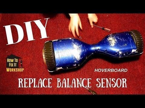 Hoverboard Repair - Replacing Broken Balance Sensor Pads