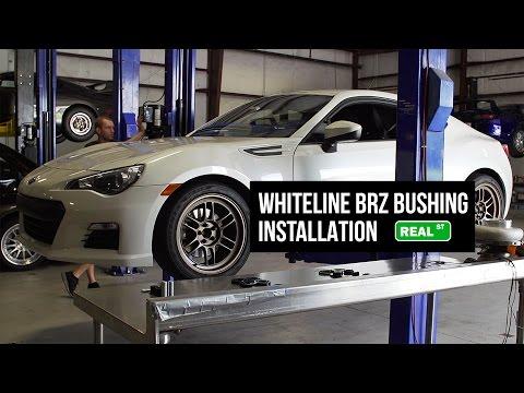 Subaru BRZ / FRS / GT86 Whiteline Bushing Install KDT925 KDT922 KSR210