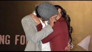 Randeep Hooda and Richa Chadha's Hot kissing scene In Public