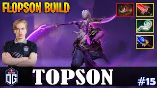 Topson - Void Spirit MID | FLOPSON BUILD | Dota 2 Pro MMR Gameplay #15