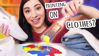 Painting an Entire Outfit (Pt. 1)