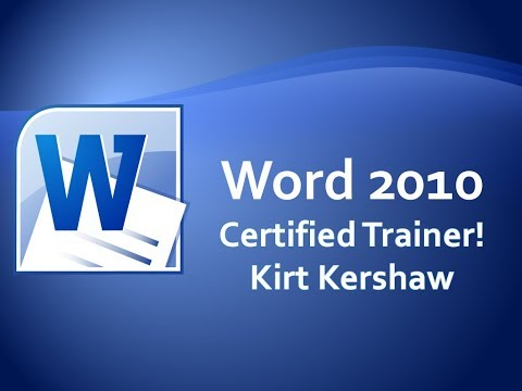 Word 2010 Sort Bulleted or Numbered Lists Training Video
