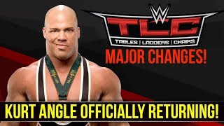 BREAKING! Kurt Angle Officially Returning To In-Ring Action At #WWETLC, Major Changes To TLC!
