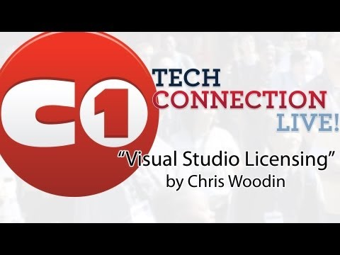Visual Studio Licensing by Chris Woodin - Tech Connection Live!